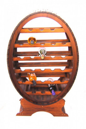 Raft lemn 26 sticle