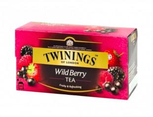 Twinings Ceai Negru Cu Aroma Fructe de padure 25 x 2g