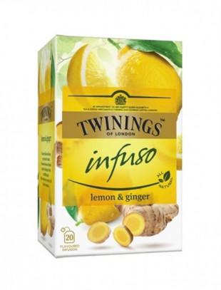Twinings Infuzie Lamaie & Ghimbir 20 x 1,5g