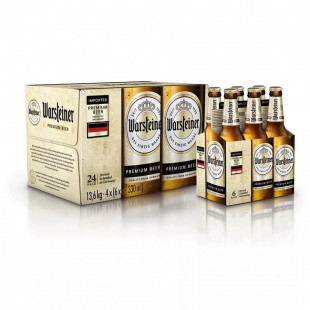 Warsteiner Bere sticla 330ml 6-pack
