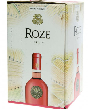 Domeniile Samburesti Roze Bag in Box 5L