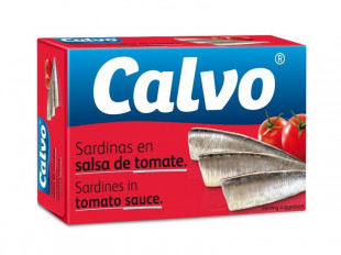 Calvo - Sardine In Sos De Rosii 120g