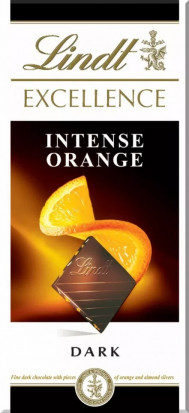 Lindt Ciocolata Excellence Dark Orange 100g