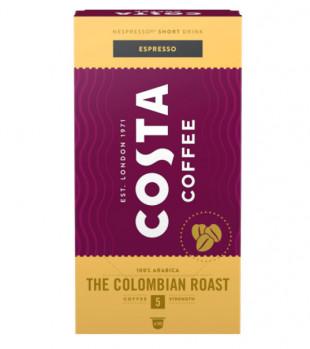 Capsule cafea Costa Colombia Espresso, 10 capsule, 57g