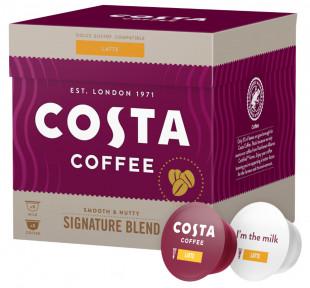 Capsule cafea Costa Signature Blend Latte, 16 capsule, 8 bauturi