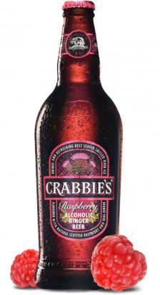 Crabbie's Alcoholic Raspberry Ginger Beer 0.33L