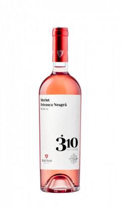 Fautor 310 Altitudine Rose Merlot & Fetească Neagra 0.75L