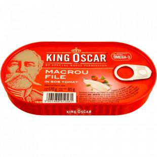 King Oscar Macrou File in Sos Tomat 170g