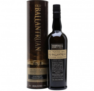 Old Ballantruan Peated Speyside Glenlivet Single Malt Scotch Whisky 0.7L