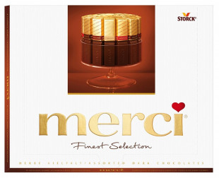 Praline Merci Dark 250 g