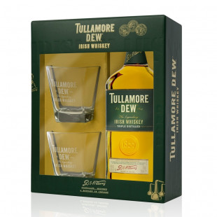 Tullamore DEW Irish Whisky Original 0.7L + 2 Pahare
