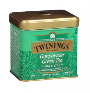 Twinings Ceai Verde Gunpowder Cutie Metal 100g