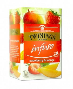 Twinings Infuzie Capsuni & Mango 20 x 2g