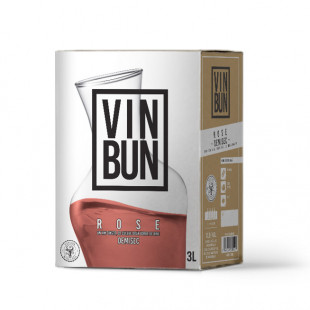 Vincon, Vin Bun,Rose, Demisec, 12.5%, Bag in Box 3L