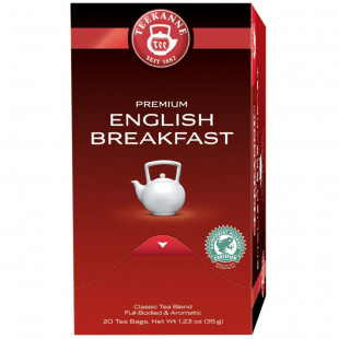 Teekanne Premium Ceai English Breakfast 20x1.75g