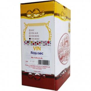 Crama Statiunea Murfatlar Vin Rosu Sec Bag In Box 3L