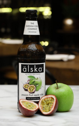 Alska Cider Passion fruit & Apple 0.5L 12/bax