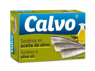 Calvo - Sardine In Ulei De Masline 120g