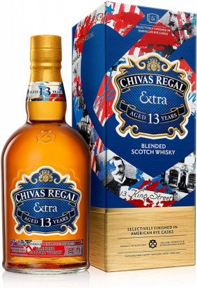 Chivas Regal Extra 13 YO American Rye Casks Blended Scotch Whisky 0.7L