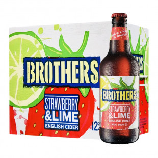 Cidru Brothers Strawberry & Lime 0.5 L