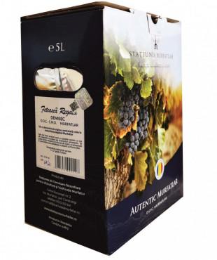 Crama Statiunea Murfatlar Feteasca Regala Alb Demisec Bag In Box 5L