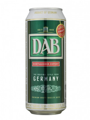 Dab Dortmunder Export Doza 500 ml
