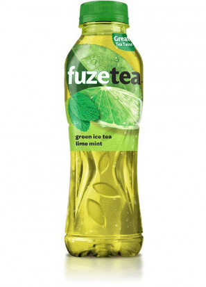 Fuzetea Green Ice Tea Lime si Mint 500 ml