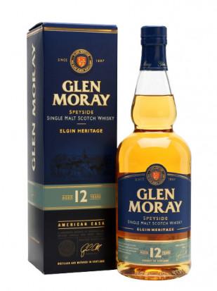 Glen Moray 12YO Single Malt Whisky 0.7L