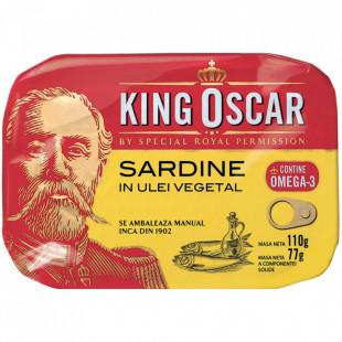 King Oscar Sardine Baltice in Ulei 110g