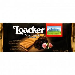 Loacker Specialitati Napolitane Dark Noir 75g