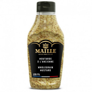 Maille Mustar Dijon whole grain Squeeze 235ml