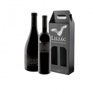 Pachet Liliac Private Selection Merlot + Pinot Noir 0.75L