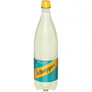 Schweppes Bitter Lemon, PET 1.5L, Bax 6 buc