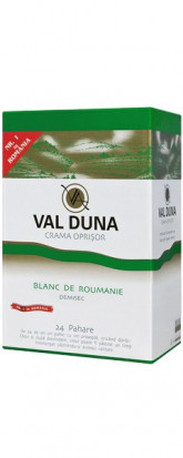 Val Duna Blanc de Roumanie Bag in Box 5L