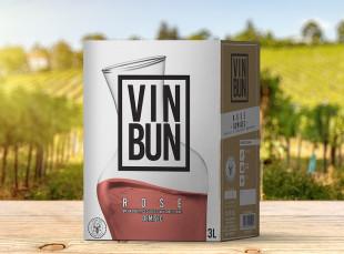 Vincon, Vin Bun,Rose, Demisec, 12.5%, Bag in Box 3L