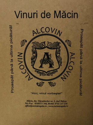 Macin Premiat Sauvignon Blanc Demisec Bag in Box 20L