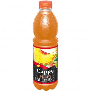 Cappy Pulpy Piersica, PET 1.5L, Bax 6 buc