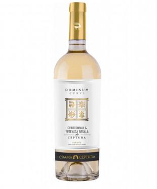Crama Ceptura Dominum Cervi Chardonnay & Fetească Regală Alb 0.75L