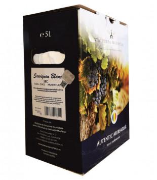 Crama Statiunea Murfatlar Sauvignon Blanc Sec Bag in Box 5L