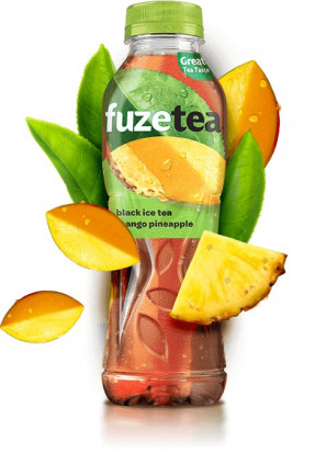 Fuzetea Black Ice Tea Mango si Ananas 500 ml