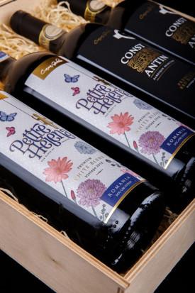 Girboiu Petite 2 Sticle Helena+2 Sticle Constantin Cutie Cadu 2 X 0.75L