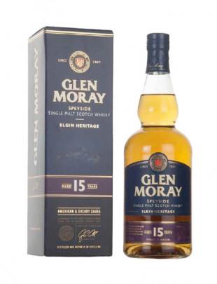 Glen Moray 15YO Single Malt Whisky 0.7L