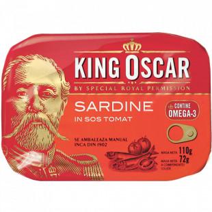 King Oscar Sardine Baltice in Sos Tomat 110g