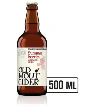 Old Mout Summer Berries, Sticla 0.5L, Bax, 12 buc