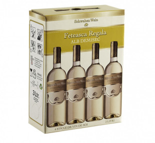 Recas Schwaben Wein Feteasca Regala Demisec Bag in Box 3L