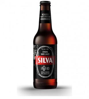 Silva Strong Dark Lager, Sticla 0.33L, Bax, 24 buc