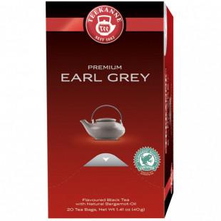 Teekanne Premium Ceai Earl Grey 20x2 g