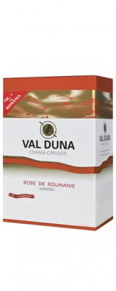 Val Duna Rose de Roumanie Bag in Box 5L