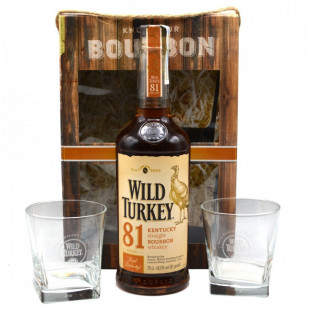 Wild Turkey 81 Proof Pahare 0.7L