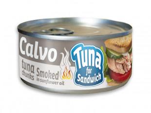 Calvo - Ton Afumat Pentru Sandvis 142g